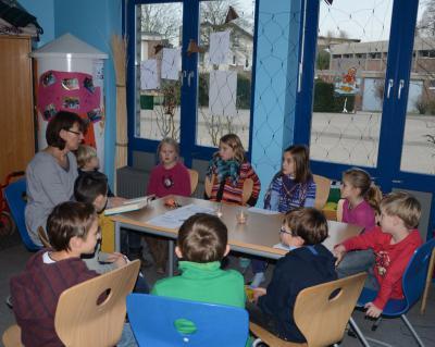 Foto zur Meldung: Unser Vorlesetag 2012