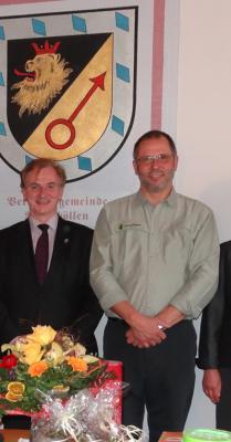 Foto zu Meldung: Revierbeamter des Forstreviers Argenthal verabschiedet