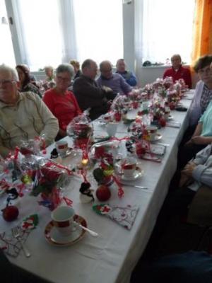Foto zur Meldung: Weihnachtsfeier Bürgerhaus Schadeleben
