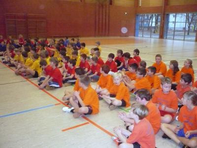Foto zur Meldung: Zweifelderballturnier als 4. gemeistert