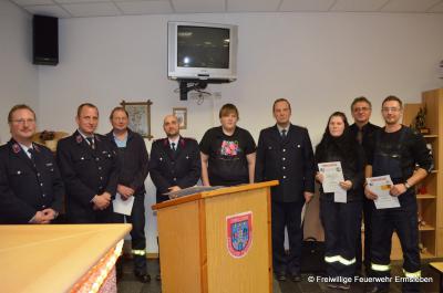 Foto zur Meldung: Jahresdienstberatung der Freiwilligen Feuerwehr der Stadt Falkenstein / Harz