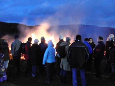 Fackelbrennen auf dem Lohberg 2012