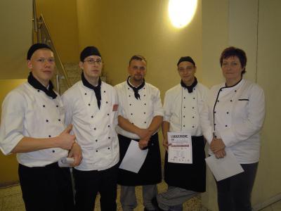 Foto zur Meldung: Berlin-Brandenburgische Kochmeisterschaften 2012