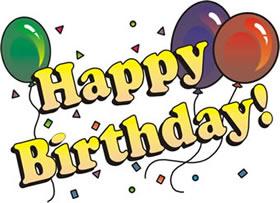 Glückwünsche zum Geburtstag !!!