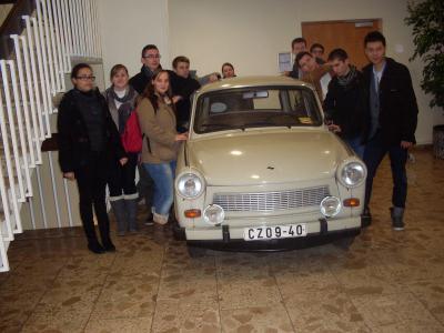 Foto zur Meldung: Französisch-Deutscher Lehrlingsaustausch 2012 in der Uckermark