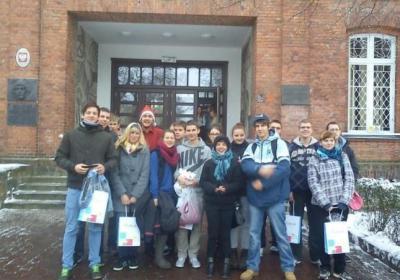 Foto zur Meldung: Deutsch-Polnischer Lehrlingsaustausch 2012 in Koszalin