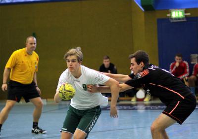 Foto zur Meldung: Sächsische Auswahlteams 96m und 97w beim Länderpokal im Einsatz