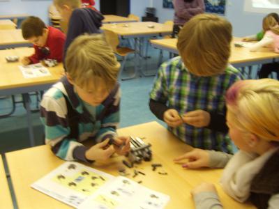 Foto zur Meldung: Robotik-Trainingslager