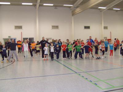 Foto zur Meldung: Große Resonanz beim 2. Familiensportfest