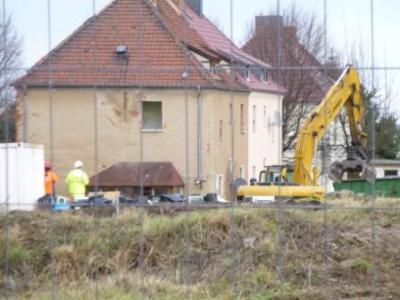 """Foto zur Meldung: Rückbau der Häuser Siedlung """"Am Ring"""""""