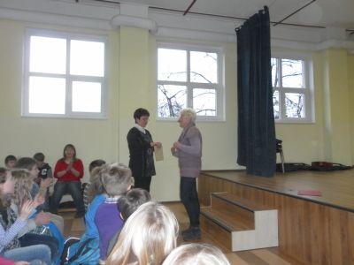 Foto zur Meldung: Verabschiedung in den Ruhestand von Frau Bielig