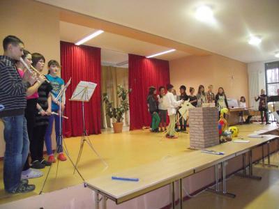 Foto zur Meldung: Kultureller Ausklang des ersten Schulhalbjahres