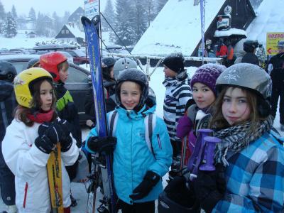 Foto zur Meldung: Skilager Tschechien