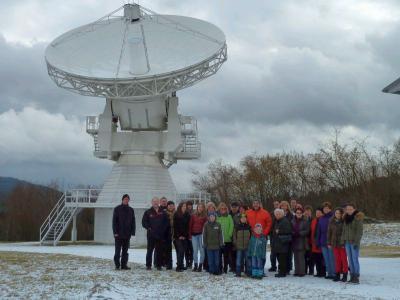 Foto zu Meldung: Hochinteressantes im Geodätischen Observatoriums Wettzell erfahren