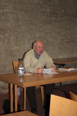 Foto zur Meldung: Rezension - Buchlesung mit Adalbert Cherek