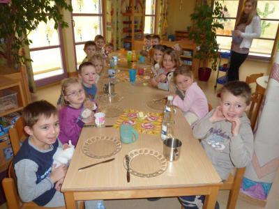 Foto zur Meldung: Schlafmützenfest im Kindergarten