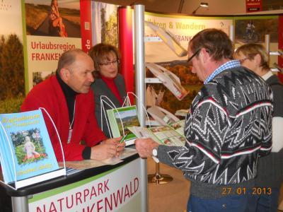 Vorschaubild zur Meldung: Weißenbrunn war auf der Reisemesse Dresden vertreten.