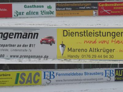 Foto zur Meldung: Sponsorentreffen bei Grün-Weiss Rehfelde
