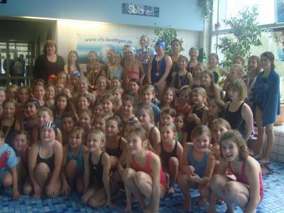 Foto zur Meldung: Zweiter Platz bei den Schwimmmeisterschaften der Stadt Kaarst!