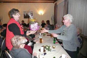 Foto zur Meldung: Jahreshauptversammlung Frauenchor Schenklengsfeld und Ehrung für 50 Jahre Mitgliedschaft