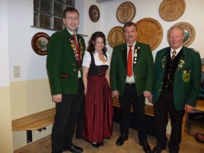 Foto zur Meldung: Der neue Schützenmeister heißt jetzt Josef Koch – Stellvertreterin ist Anna Kraus