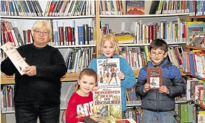 Foto zur Meldung: Gemeindebücherei: Bücherei hat sich fest etabliert