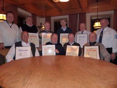 Foto zu Meldung: Der legendäre Handwerkerverein zog Bilanz - 3 Neuzugänge im letzten Jahr