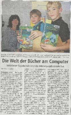 Vorschaubild zur Meldung: Die Welt der Bücher am Computer