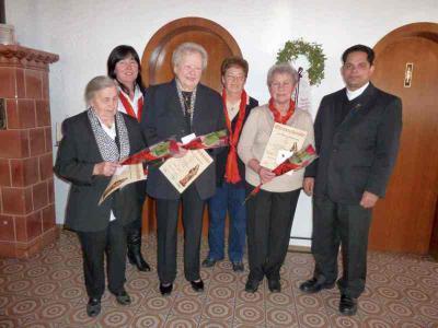 Foto zur Meldung: Das erste Jahr mit Bravour bestanden – Ehrung langjähriger Mitglieder