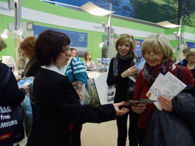 Foto zu Meldung: Tourismusverein war auf der ITB präsent
