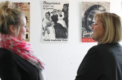 Foto zu Meldung: Frauen im Aufbruch - Neue Ausstellung