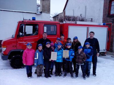 Foto zur Meldung: Neugründung der Jugend- und Kinderfeuerwehr Trebnitz