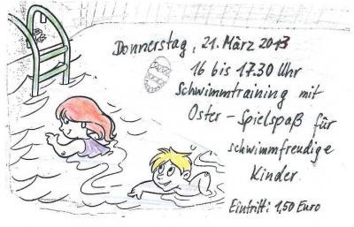 Vorschaubild zur Meldung: Hallo schwimmfreudige Kinder