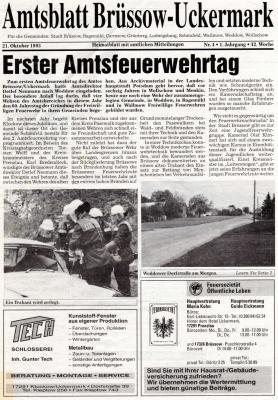 Foto zu Meldung: Feuerwehrgeschichte und Geschichten aus der Feuerwehr!