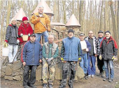 Foto zur Meldung: Heimatverein: Märchenwald erwacht aus dem Winterschlaf