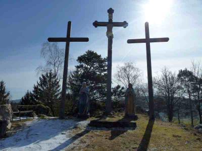 Foto zur Meldung: Der Pfahl-Kreuzweg in Moosbach- ein Zeichen des Glaubens