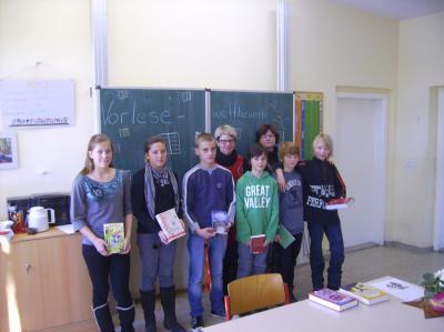 Foto zur Meldung: Vorlesewettbewerb in der Grundschule Rückersdorf