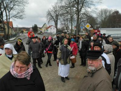Foto zur Meldung: Wo einst die Dosse floss - Historischer Osterspaziergang 2013
