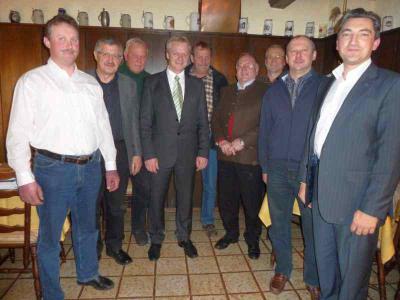 Foto zu Meldung: Der Vorstandschaft des CSU-Ortsverein geht mit Michael Kellermeier geschlossen ins Wahljahr