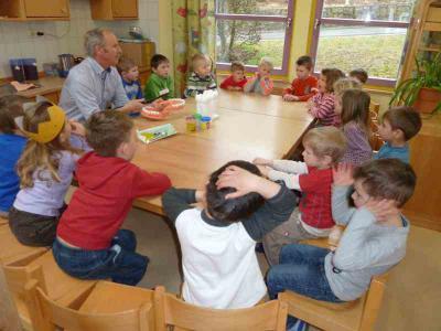 Foto zur Meldung: Zahnarztbesuch im Kindergarten