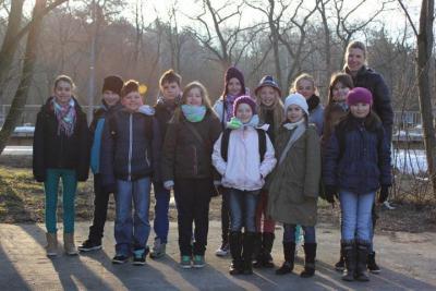 Vorschaubild zur Meldung: Ausflug der 4. Klasse nach Magdeburg