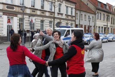 Foto zur Meldung: Beelitz bleibt bunt