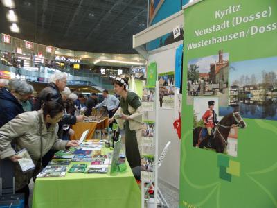 Foto zu Meldung: Der Tourismusverein präsentierte sich auf dem Brandenburgischen Reisemarkt