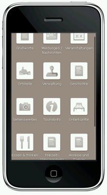 Foto zur Meldung: Mobile Seite von ziesar.de ist online