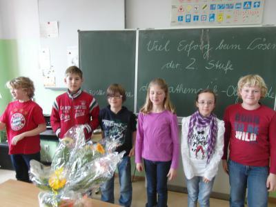 Foto zur Meldung: 2. Stufe der Mathematik - Olympiade