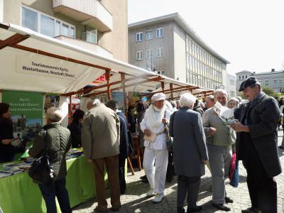 Foto zu Meldung: Tourismusverein warb auf Brandenburg-Tag in Berlin-Spandau