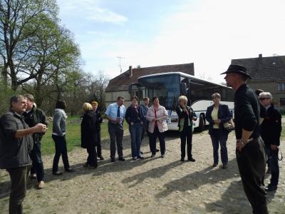 """Foto zu Meldung: Bustour für die Aktion """"48 Stunden Kleeblatt-Region"""""""