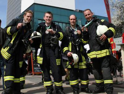 Foto zur Meldung: 3. Berlin Firefighter Stairrun