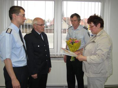 Foto zu Meldung: Führungswechsel bei der Fichtenberger Feuerwehr