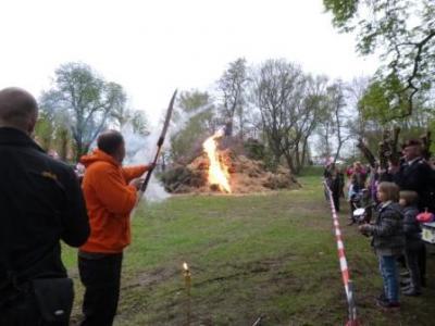 Foto zu Meldung: Maifeuer im OT Hoym